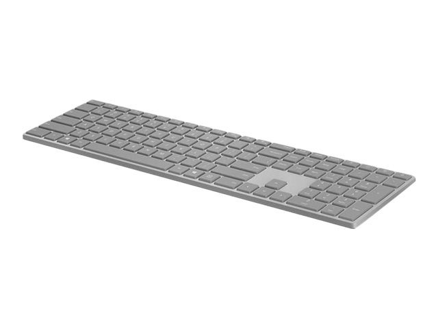 Microsoft Surface Keyboard - Clavier - sans fil - Bluetooth 4.0 - français - gris - commercial