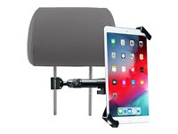 CTA Vehicle Headrest Security Flex Mount Mounting kit for tablet metal screen size: 7INCH-14INCH