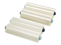 GBC EZload Laminating Roll Film - 2-pack - glossy - Roll (30.5 cm x 75 m) lamination film