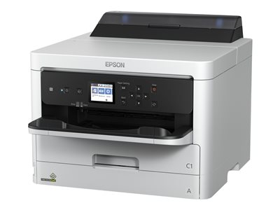 Epson WorkForce Pro WF-C5210 - Printer - color - Duplex - ink-jet - A4/Legal - 4800 x 1200 dpi - up to 34 ppm (mono) / up to 34 ppm (color) - capacity: 330 sheets - USB 2.0, Gigabit LAN, Wi-Fi(n)