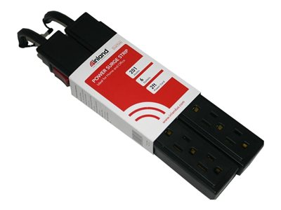 Inland SurgeGuard Surge protector AC 120 V output connectors: 6 pia