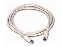 C2G Keyboard cable PS/2 (M) to PS/2 (M) 10 ft white