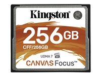 Kingston Canvas Focus - flash-minneskort - 256 GB - CompactFlash