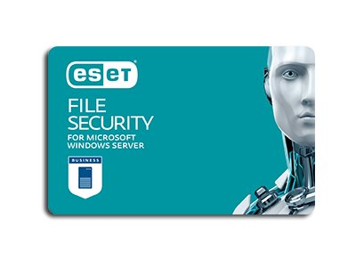 ESET File Security for Microsoft Windows Server - subscription license (1 year) - 1 server