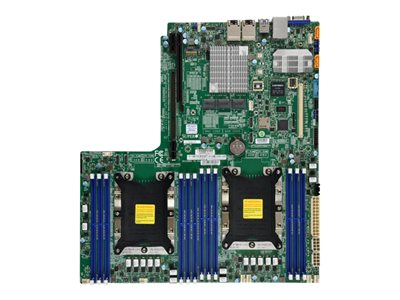 SUPERMICRO X11DDW-NT Motherboard Socket P 2 CPUs supported C622 USB 3.0