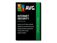 AVG Internet Security 2020 Subscription license (1 year) 10 devices download