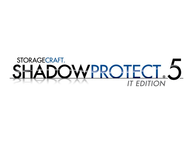 ShadowProtect IT Edition (v. 5.x) - subscription license (1 year) + 1 Year Maintenance - 1 technician