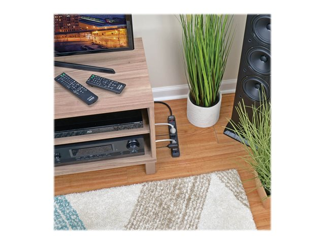 Tripp Lite Surge Protector Power Strip 6 Outlet 6' Cord 360 Joules Black