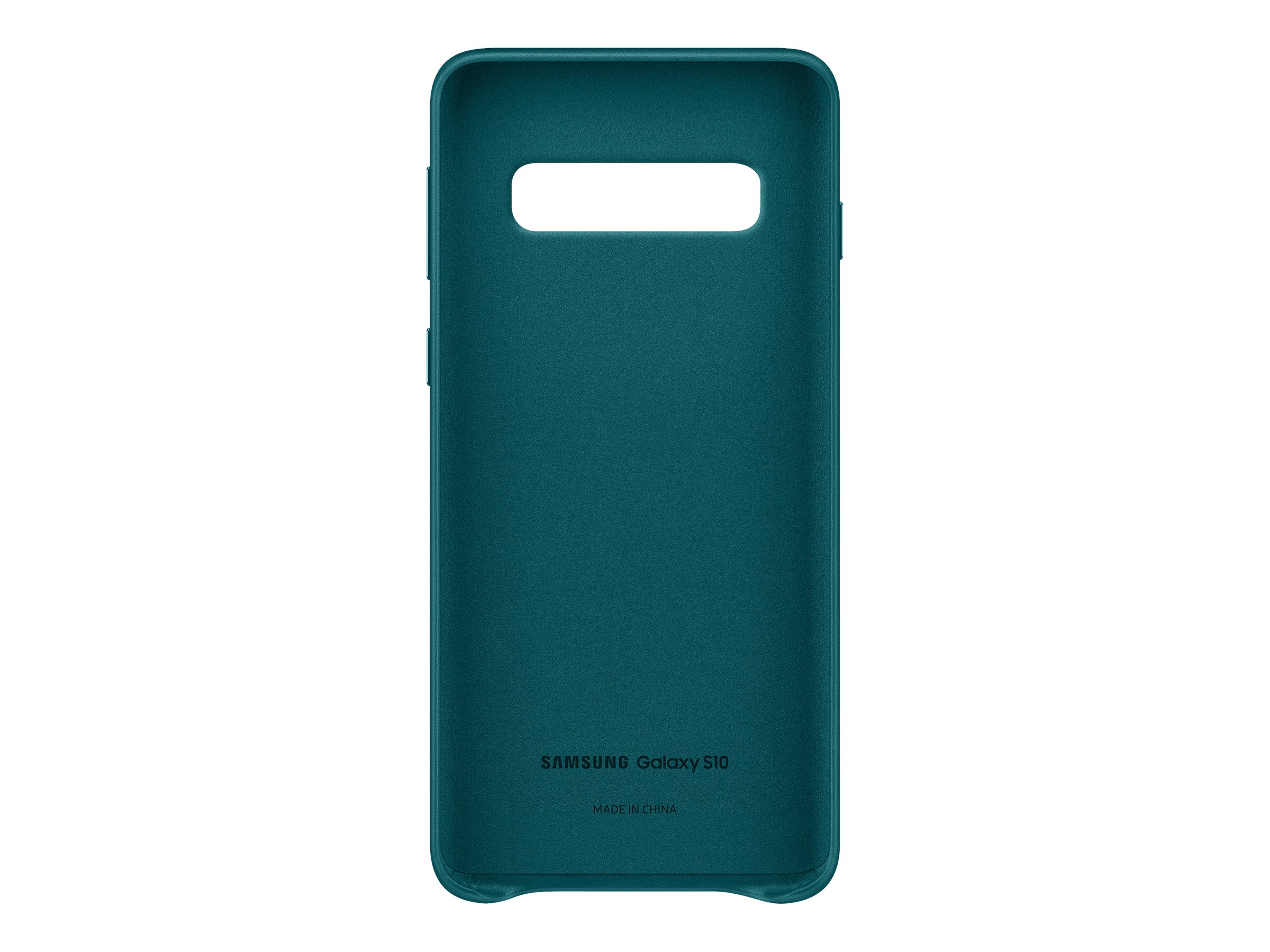 Samsung Leather Cover EF-VG973 - back cover for cell phone