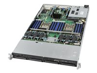 Intel Server System R1304WFTYSR Server rack-mountable 1U 2-way RAM 0 GB SATA