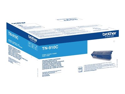 Brother Brother TN910C - cyan - toner d'origine - cartouche laser