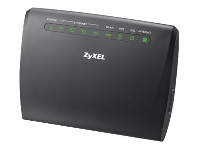 Zyxel AMG1302-T11C - Wireless Router - DSL-Modem - 4-Port-Switch - 802.11b/g/n - 2,4 GHz