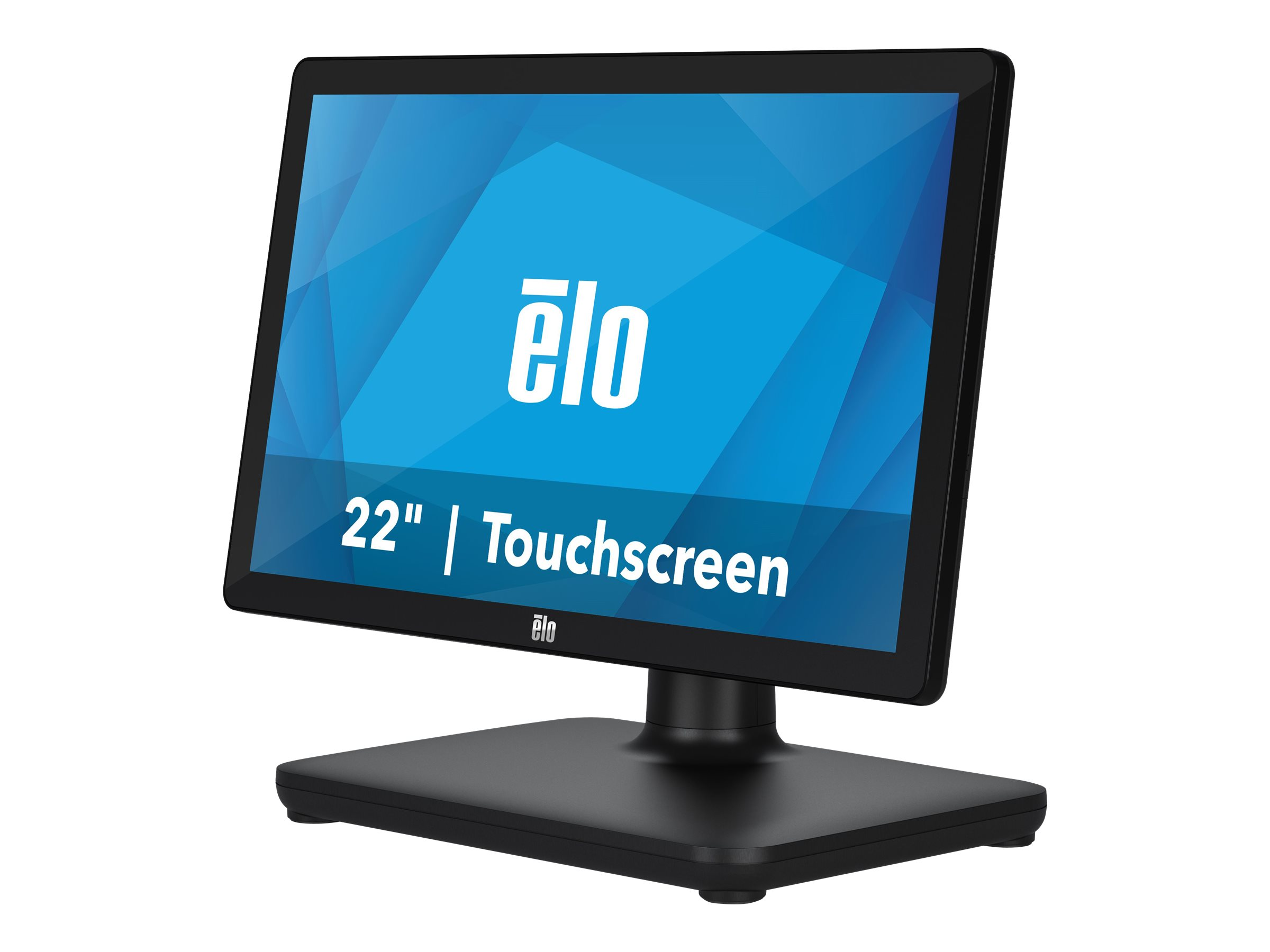 Elo EloPOS System, 54,6cm (21,5 Zoll), Projected Capacitive, SSD, 10 IoT ME, schwarz