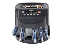 MMF Industries STEELMASTER Coin counter / sorter black