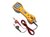 Fluke Networks TS30 Test Set with Angled Bed-of-Nails Clips Telephone test set