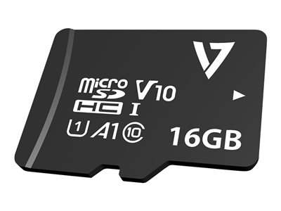 V7 VPMSDH16GU1 - flash memory card - 16 GB - microSDXC UHS-I