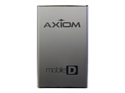 Axiom Mobile-D Series USB3HD2571TB-AX Hard drive 1 TB external (portable) 2.5INCH USB 3.0