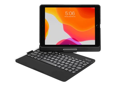 Targus VersaType Keyboard and folio case backlit wireless QWERTY US
