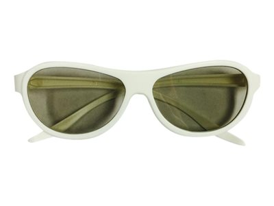 Inland ProHT 3D glasses for TV polarized white
