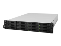 Synology RackStation RS2416RP+ - NAS server - 12 bays - rack-mountable - SATA 6Gb/s - RAID 0, 1, 5, 6, 10, JBOD, 5 hot spare, 6 hot spare, 10 hot spare, 1 hot spare - Gigabit Ethernet - iSCSI - 2U