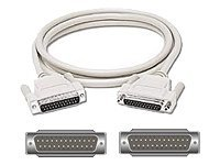 C2G serial / parallel cable - 91.4 cm - beige