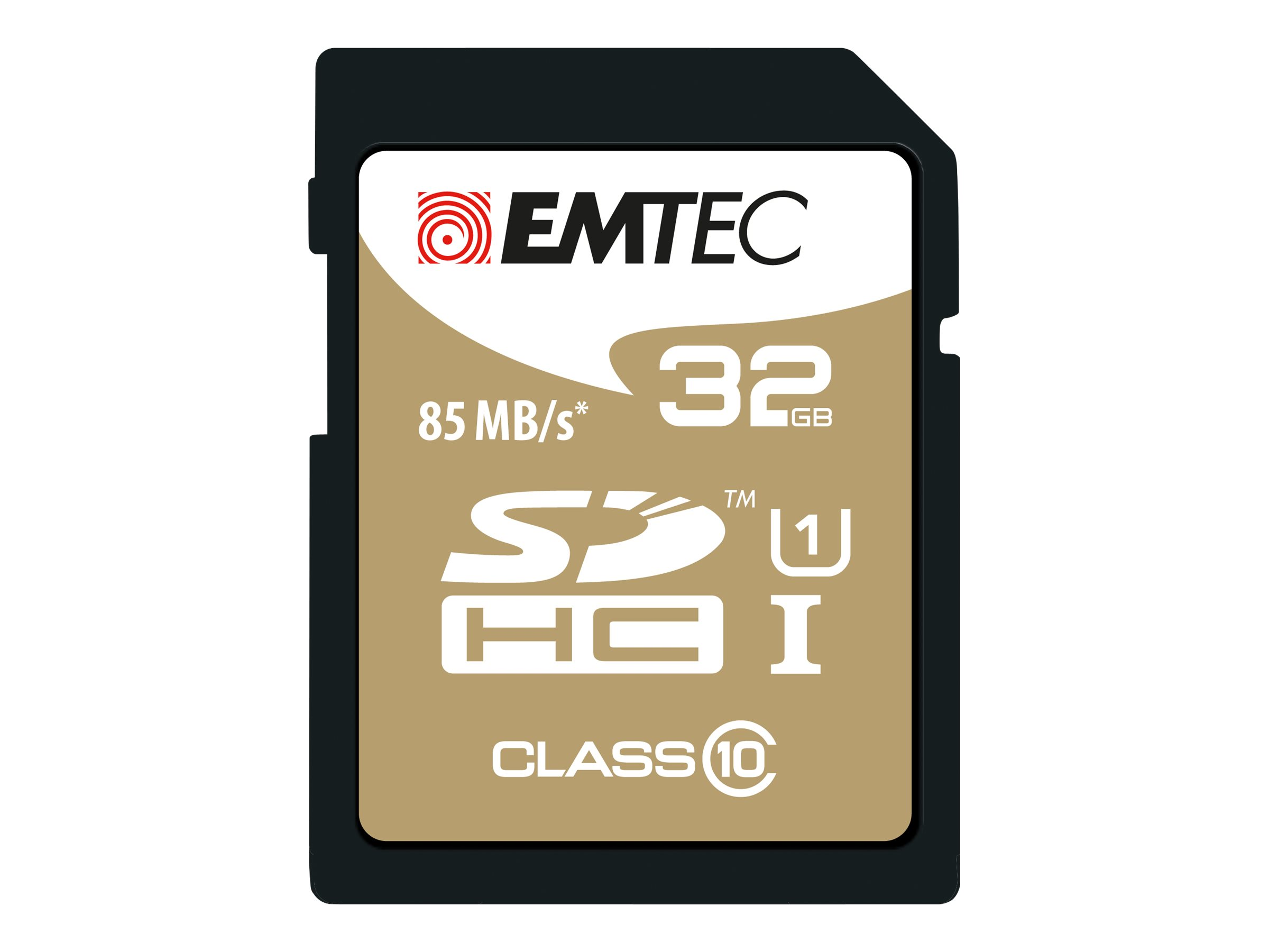EMTEC Gold+ - Flash-Speicherkarte - 32 GB - Class 10 - SDHC