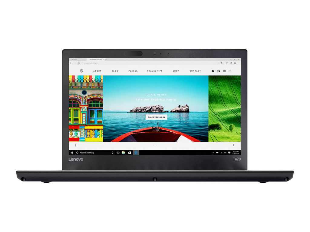 "Lenovo ThinkPad T470 - 14"" - Core i7 6600U - 8 GB RAM - 256 GB SSD - US"