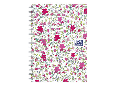 Oxford Floral - cahier de notes