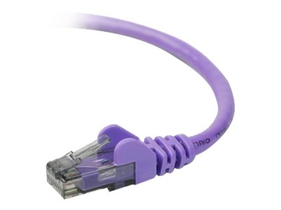 Belkin High Performance patch cable - 9.1 m - purple