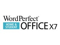 WordPerfect Office X7 Home and Student Edition License 1 user ESD Win English