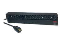 APC Basic Rack-Mount PDU - Unité de distribution d'alimentation (rack-montable) - CA 120 V - 1.8 kW