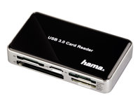 "Hama ""All in One"" USB 3.0 SuperSpeed Multi Card Reader - Kartenleser"