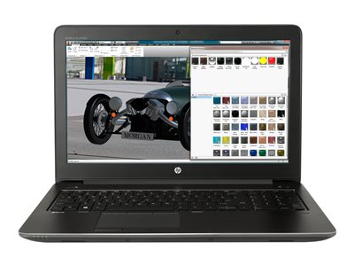 HP ZBook 15 G4 Mobile Workstation - 15 6%22 - Core i7 7700HQ - 16 GB RAM -  512 GB SSD - US
