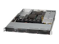 Supermicro SuperServer 6018R-WTRT Server rack-mountable 1U 2-way RAM 0 MB SATA/SAS