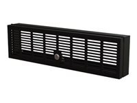 StarTech.com 3U Rack-Mount Security Cover - Hinged - Locking with Key - Compatible with 19 inch Racks