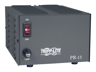 Tripp Lite DC Power Supply 15A 120VAC to 13.8VDC AC to DC Conversion TAA GSA - power adapter