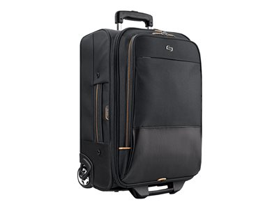 SOLO Urban Rolling Overnighter Notebook carrying case 15.6INCH black