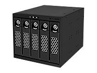 RaidSonic ICY BOX IB-555SSK - Storage drive cage with cooling fan