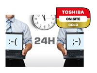 Toshiba On-Site Repair Gold - Extended service agreement