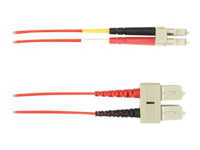 Black Box patch cable - 8 m - red