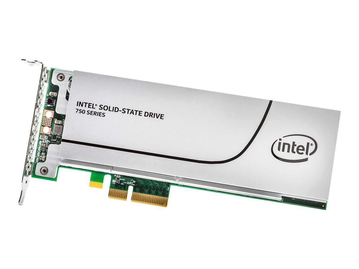 Intel Solid-State Drive 750 Series - Solid-State-Disk - 400 GB - intern - PCI Express 3.0 x4 (NVMe)