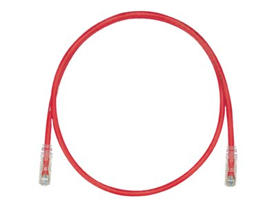 Panduit TX6 PLUS patch cable - 2.74 m - red