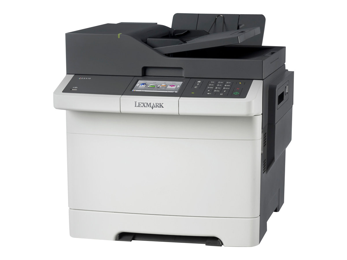 Lexmark CX410e - Multifunktionsdrucker - Farbe - Laser - Legal (216 x 356 mm) (Original) - Legal (Medien)