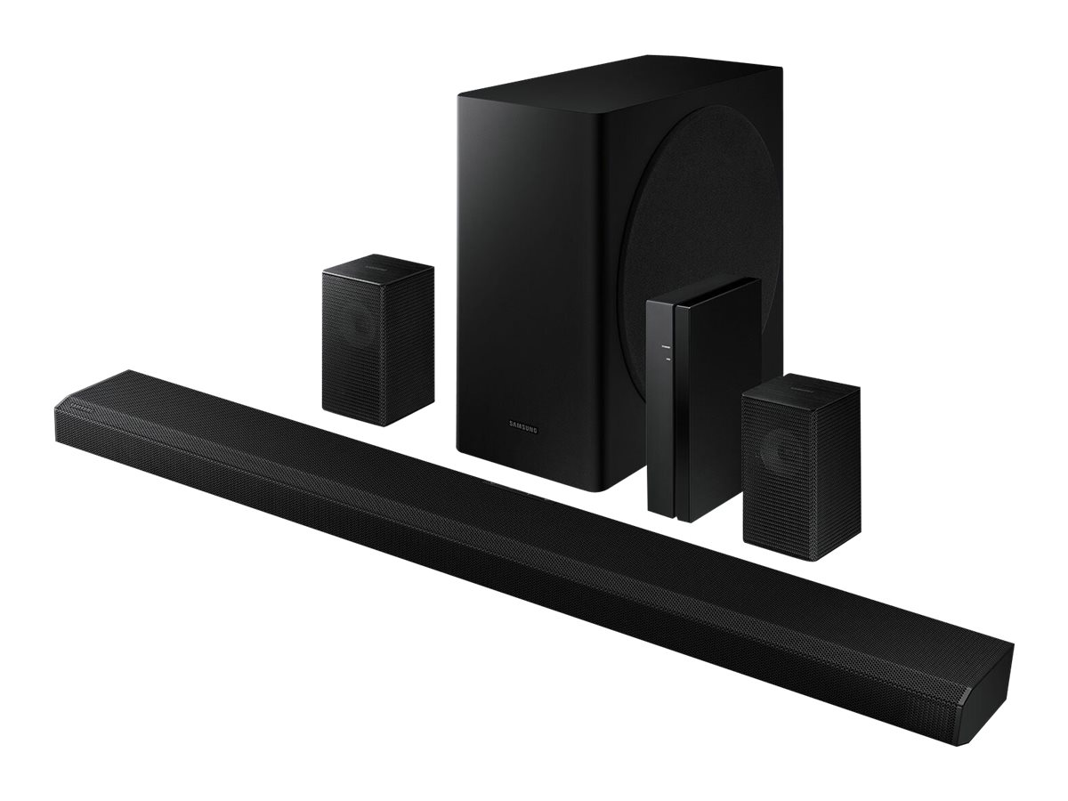 Samsung HW-Q850T - sound bar system - for home theater - wireless