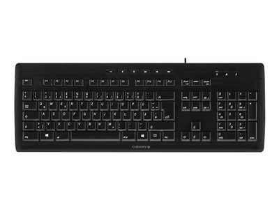 CHERRY STREAM 3.0 - Keyboard - USB - UK layout - black