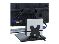 Ergotron Thin Client Mount - Mounting kit (holder, mounting hardware, strap) for personal computer