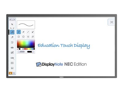 NEC E651-T 65INCH Class (65INCH viewable) LED display digital signage / interactive communication
