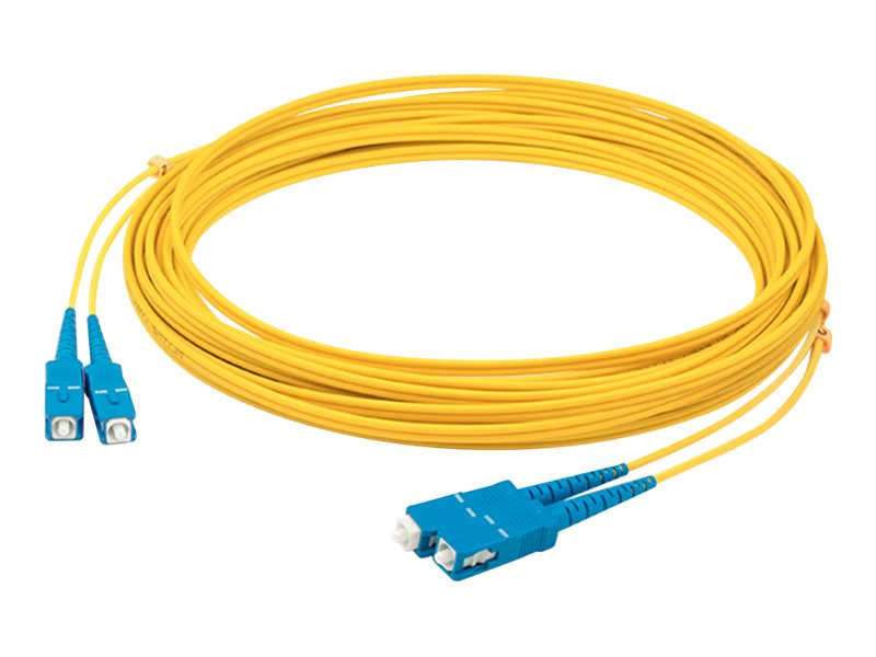 AddOn 3m SC OS1 Yellow Patch Cable - patch cable - 3 m