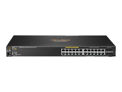 HPE Aruba 2530-24G-PoE+ - switch - 24 ports - managed - rack-mountable