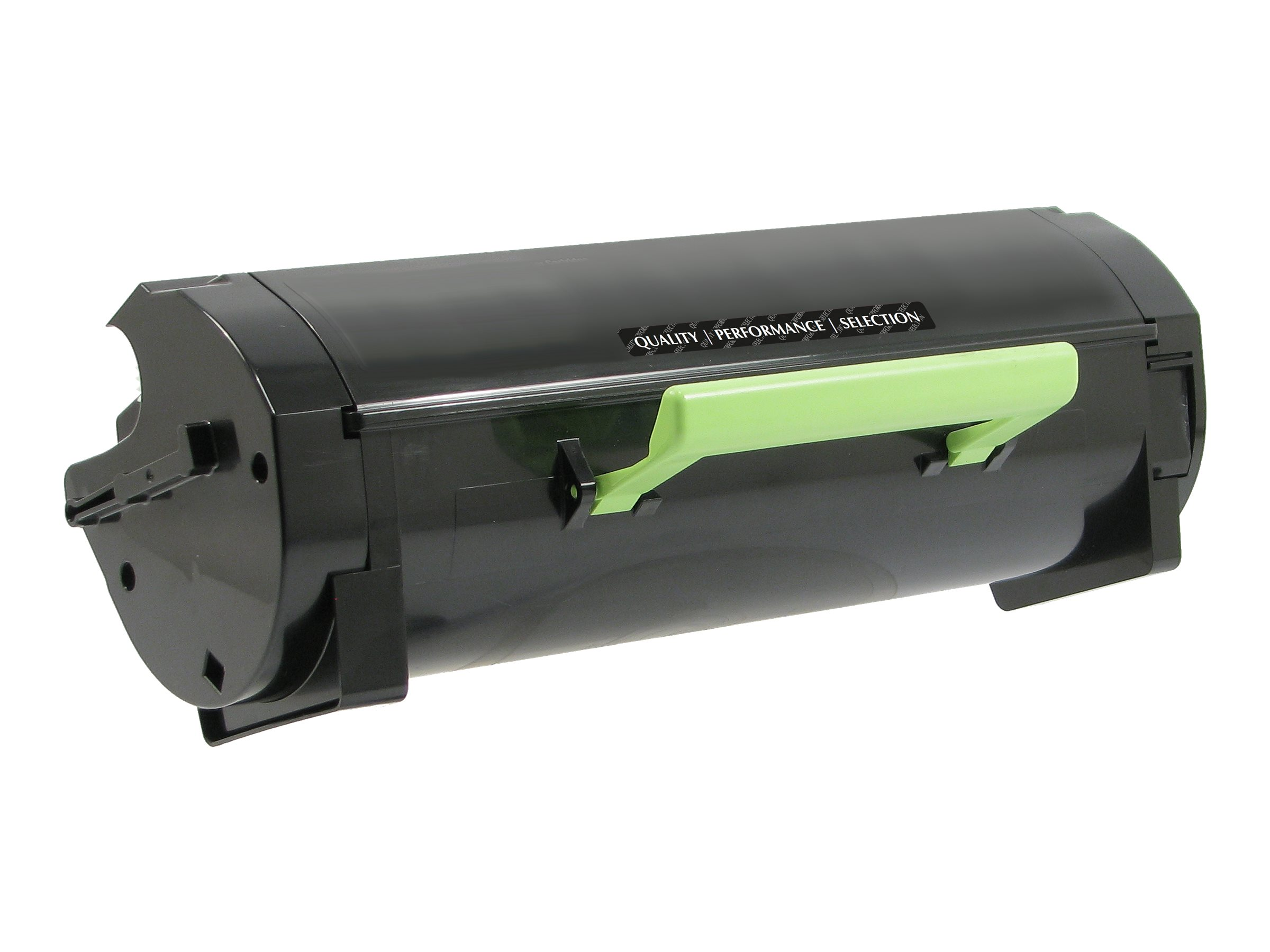 V7 - High Yield - black - compatible - toner cartridge (alternative for: Lexmark 501H)